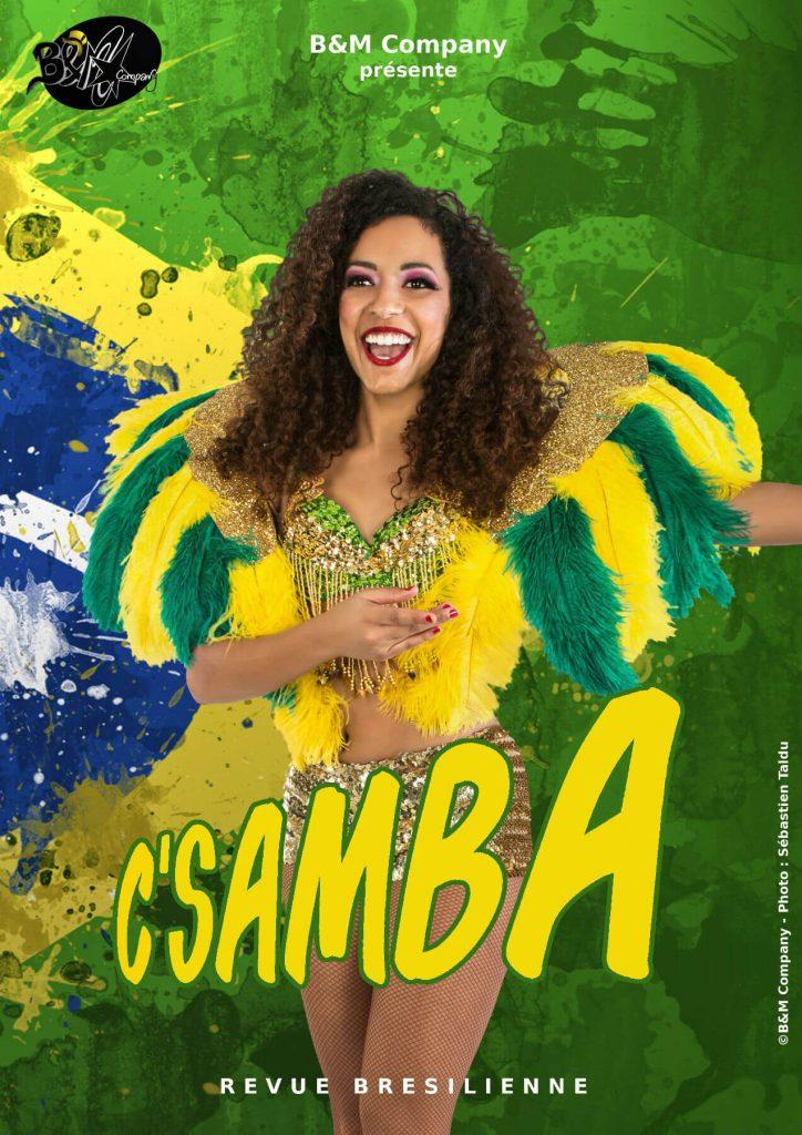 revue c samba brésilienne